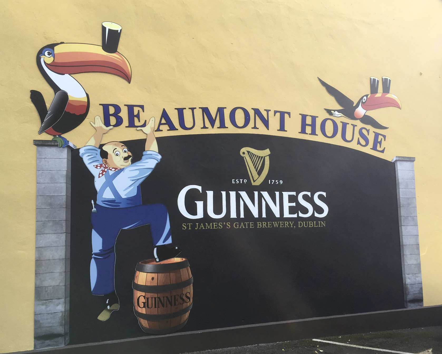 Beaumont House Mural