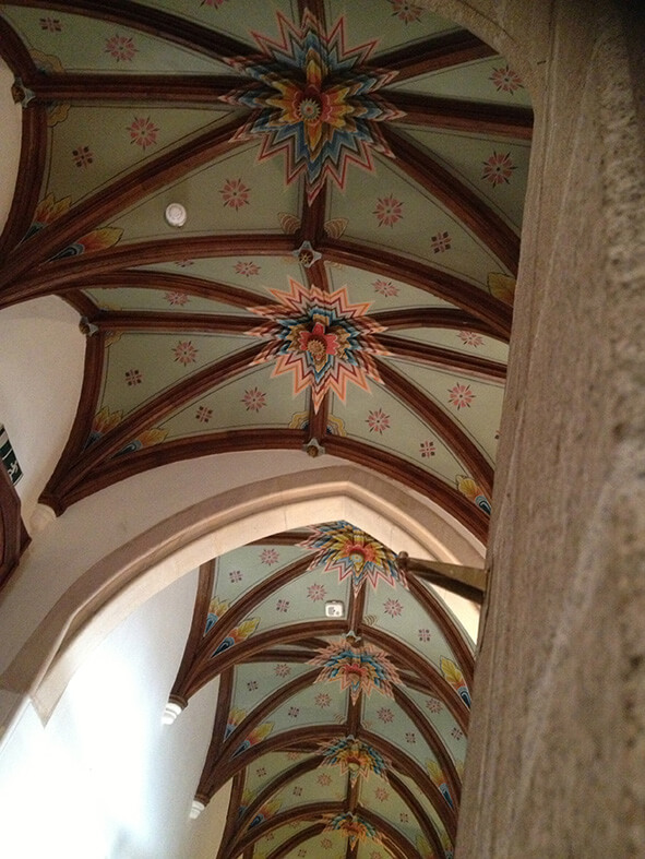 Hallway Ceiling (Humewood Castle)
