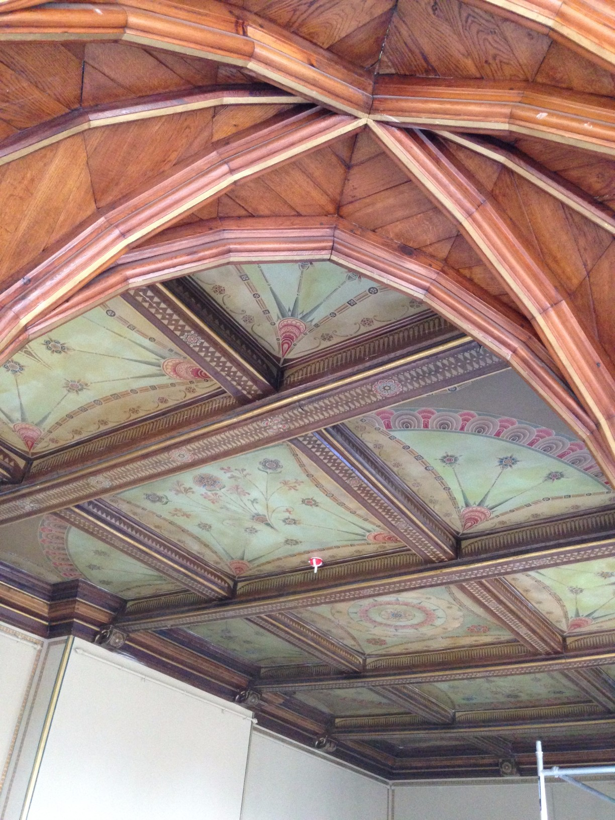Drawing Room Ceiling (Humewood Castle)