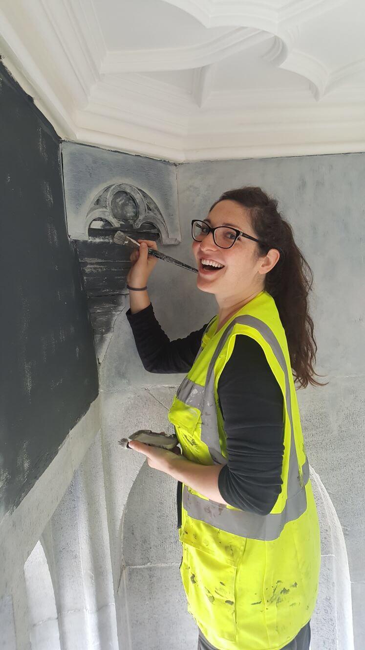 Nicoletta Painting Faux Stone (Adare Manor)